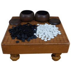 Japanese Antique GO Game Complete Set Original  1915