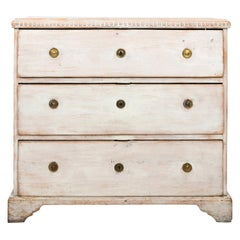 Grey Painted Swedish Gustavian Commode