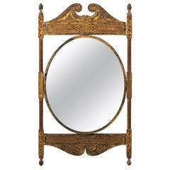 Late 19th Century Neoclassical Gilded Mirror, circa 1870s