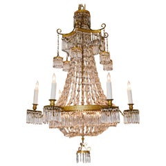 19th Century French Pagoda Inspired Chandelier