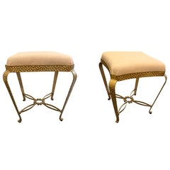 Pier Luigi Colli Pair of Foot Stools, Italy, Midcentury
