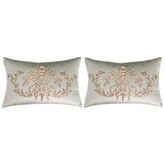Pair of B. Viz Design Antique Textile Pillow