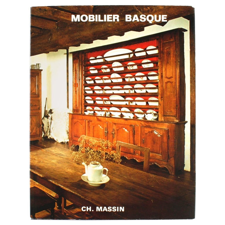 Mobilier Basque by Lucile Oliver, 1st Ed For Sale