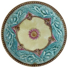 19th Century French Majolica Plate