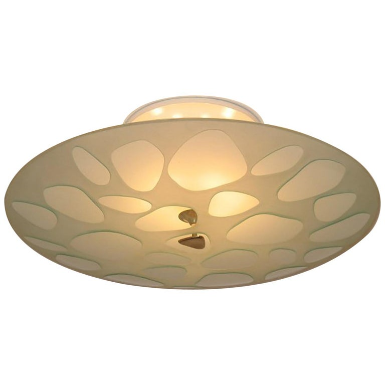 Max Ingrand for Fontana Arte Ceiling Lamp, Milano, 1950s For Sale at ...