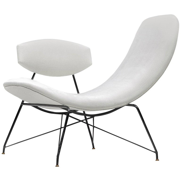 Martin Eisler reversible chair, 1955, offered by Morentz