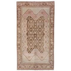Persian Karabagh Rug, Soft Palette, circa 1910s