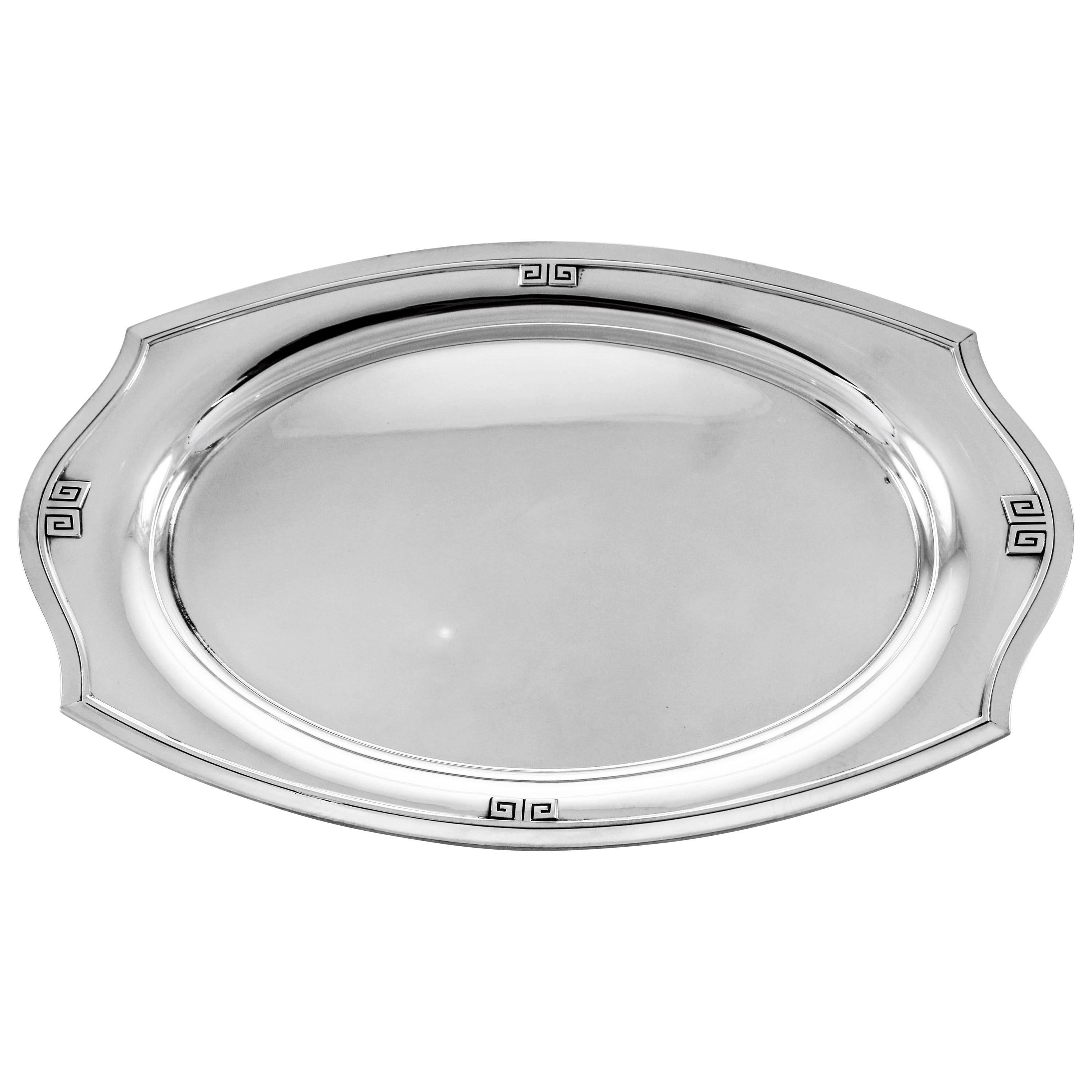 Etruscan Sterling Dish