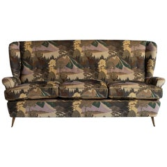 High Back Modern Sofa