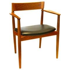 Danish Modern Armchair Designed by Hansen Rosengren for Brande Mobelfabrik
