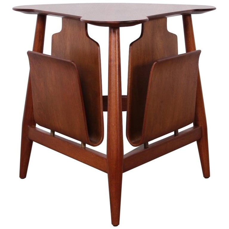 Magazine Table by Edward Wormley for Dunbar For Sale