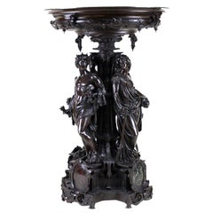 Large Bronze Centrepiece with Greek or Roman Gods