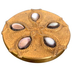 A Bronze Compact Box by French Art Jeweler Line Vautrin