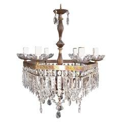 Feine Kristall-Kronleuchter, Lampe, Lüster-Anhänger, Deckenbeleuchtung