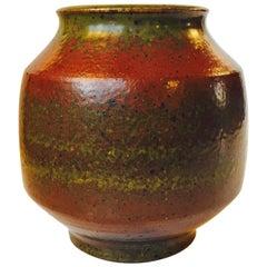 Midcentury Stoneware Vase by Danish Ceramist Marianne Starck, Michael Andersen