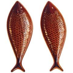 Ceramic 'Fish' Dishes by Stig Lindberg for Gustavsberg, 1960s, Sweden