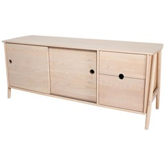 Woodbine Sideboard, Nude, Midcentury Sideboard in Wood