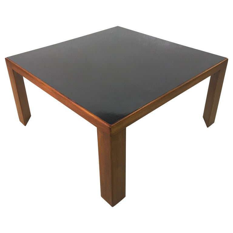 Edward Wormley for Dunbar Model 3374 Square Cocktail Table For Sale