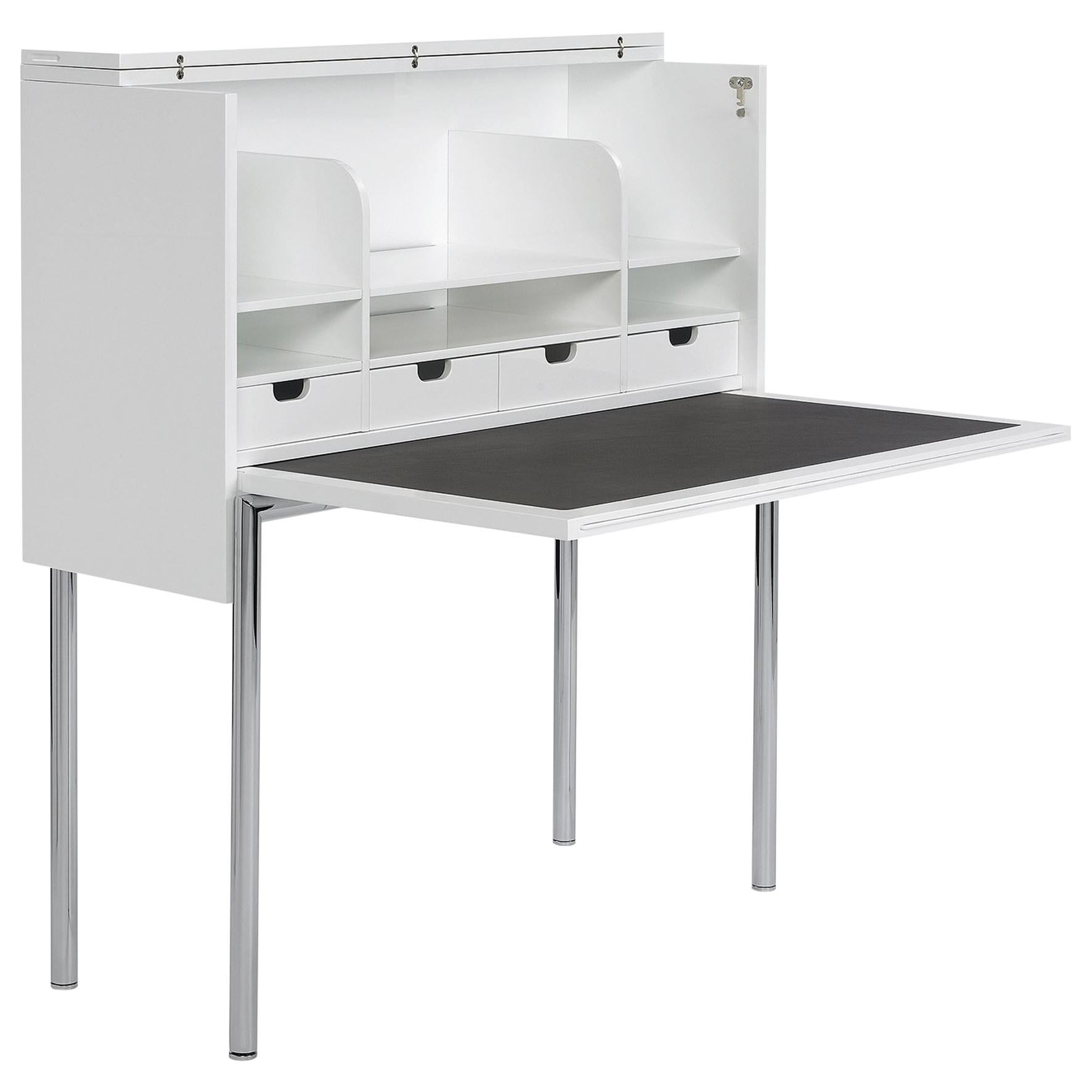 ClassiCon Orcus Desk in Lacquered White by Konstantin Grcic