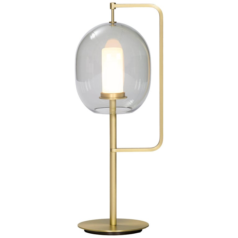 ClassiCon Lantern Light Table Lamp in Brass by Neri&Hu For Sale