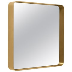 ClassiCon Cypris Square Mirror in Brass by Nina Mair