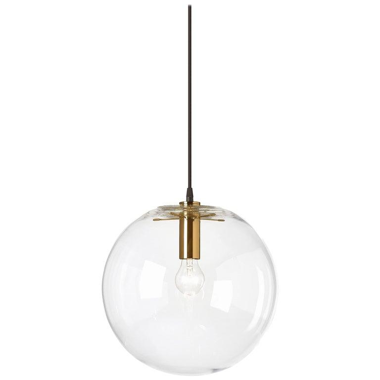 ClassiCon Medium Selene Pendant Lamp in Brass by Sandra Lindner For Sale