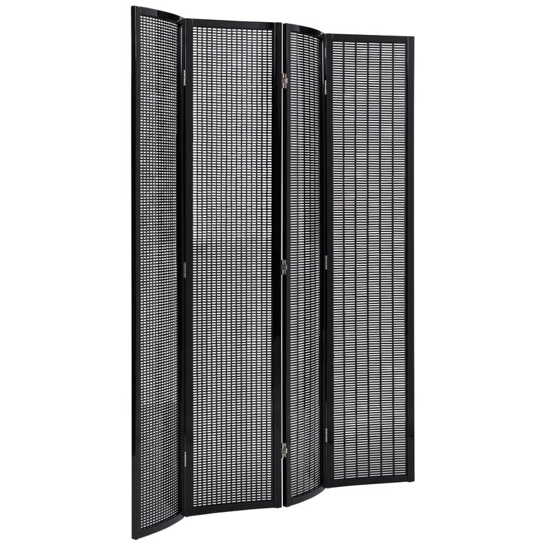 ClassiCon Folding Screen in Black by Eileen Gray For Sale
