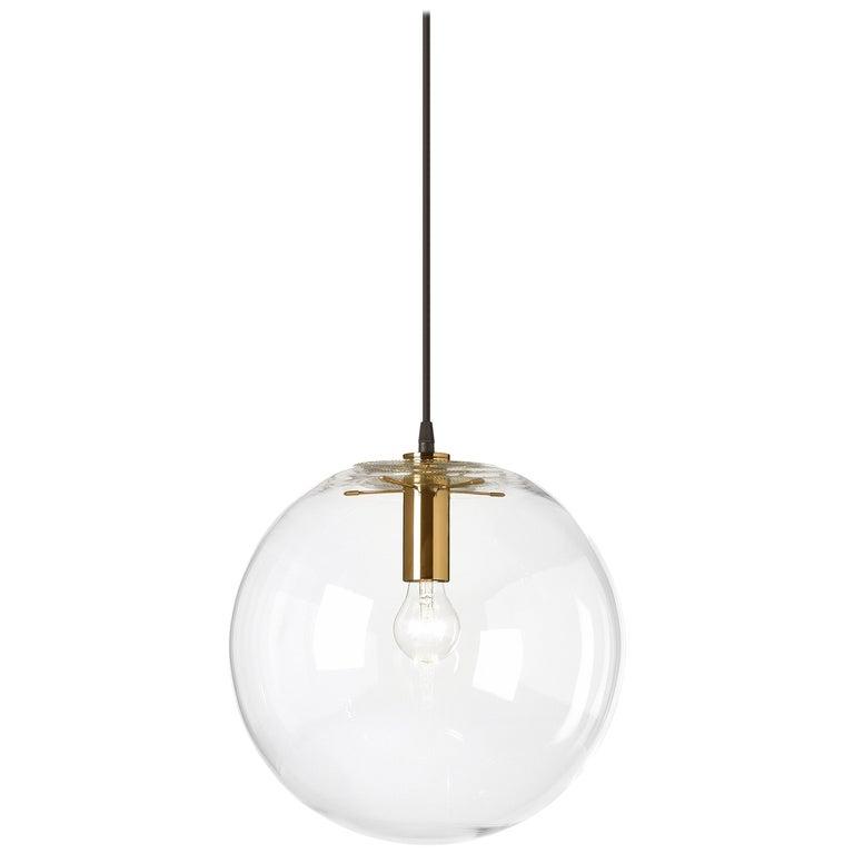 ClassiCon Large Selene Pendant Lamp in Brass by Sandra Lindner For Sale