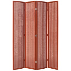 ClassiCon Folding Screen in Red by Eileen Gray