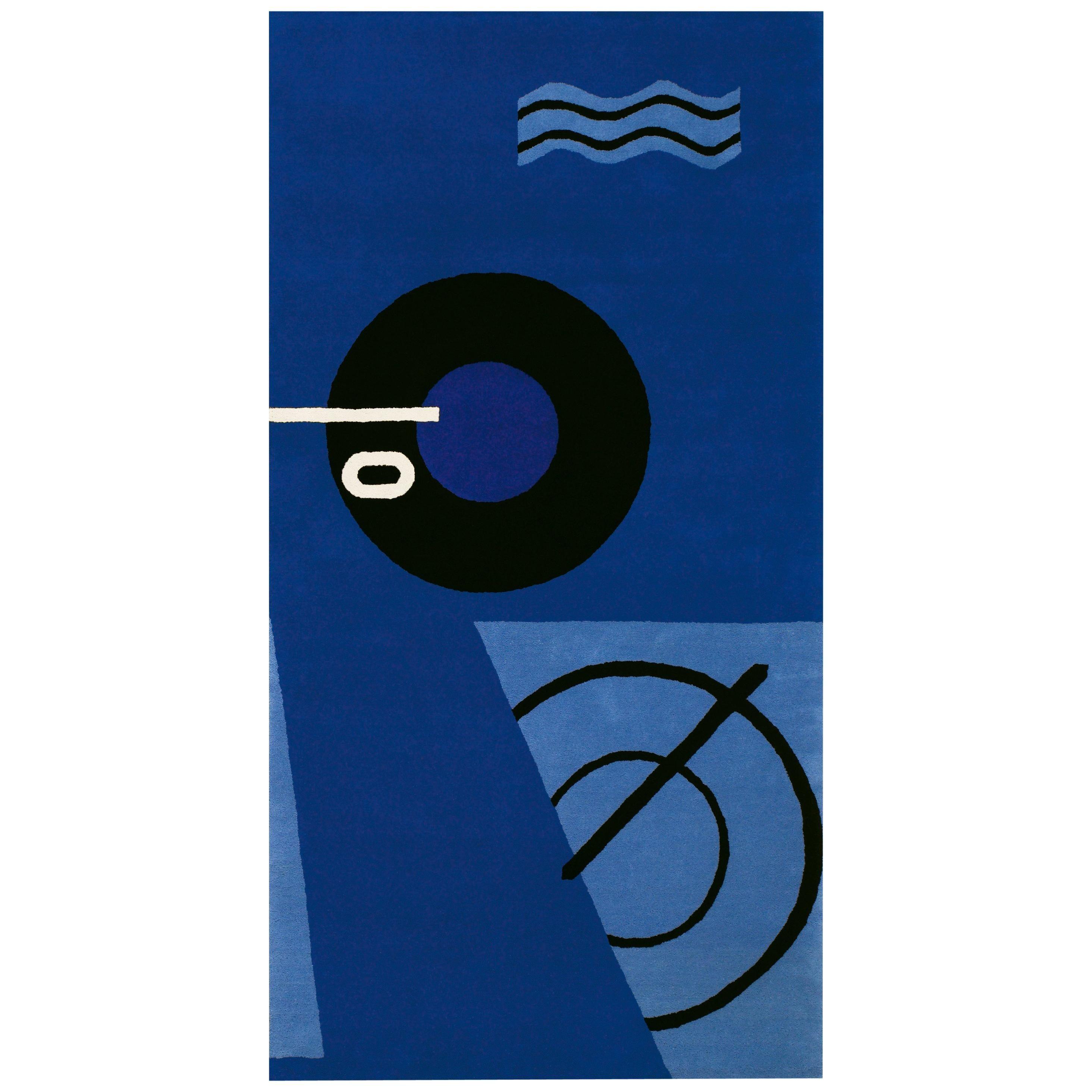 ClassiCon Blue Marine Rug by Eileen Gray