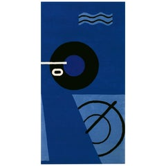 ClassiCon Blue Marine Rug by Eileen Gray