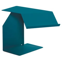 ClassiCon Diana F Side Table in Ocean Blue by Konstantin Grcic