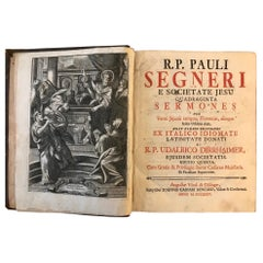 40 Speeches for the Lenting Time in Different Italian Towns, Seromens, 1735