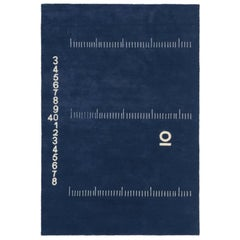 ClassiCon Centimetre Rug in Hand Knotted Wool by Eileen Gray