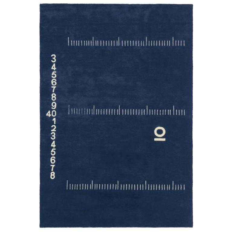 ClassiCon Centimetre Rug in Hand Knotted Wool by Eileen Gray For Sale