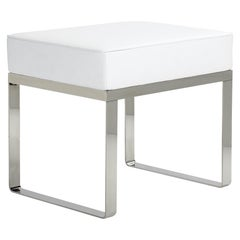 ClassiCon Banu Stool in White by Eckart Muthesius