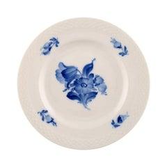 6 pcs. Royal Copenhagen Blue Flower Braided, large dessert plate/salad plate.