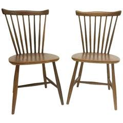 Pastoe SH41 Afro Teak Nesto Chairs, 1960s