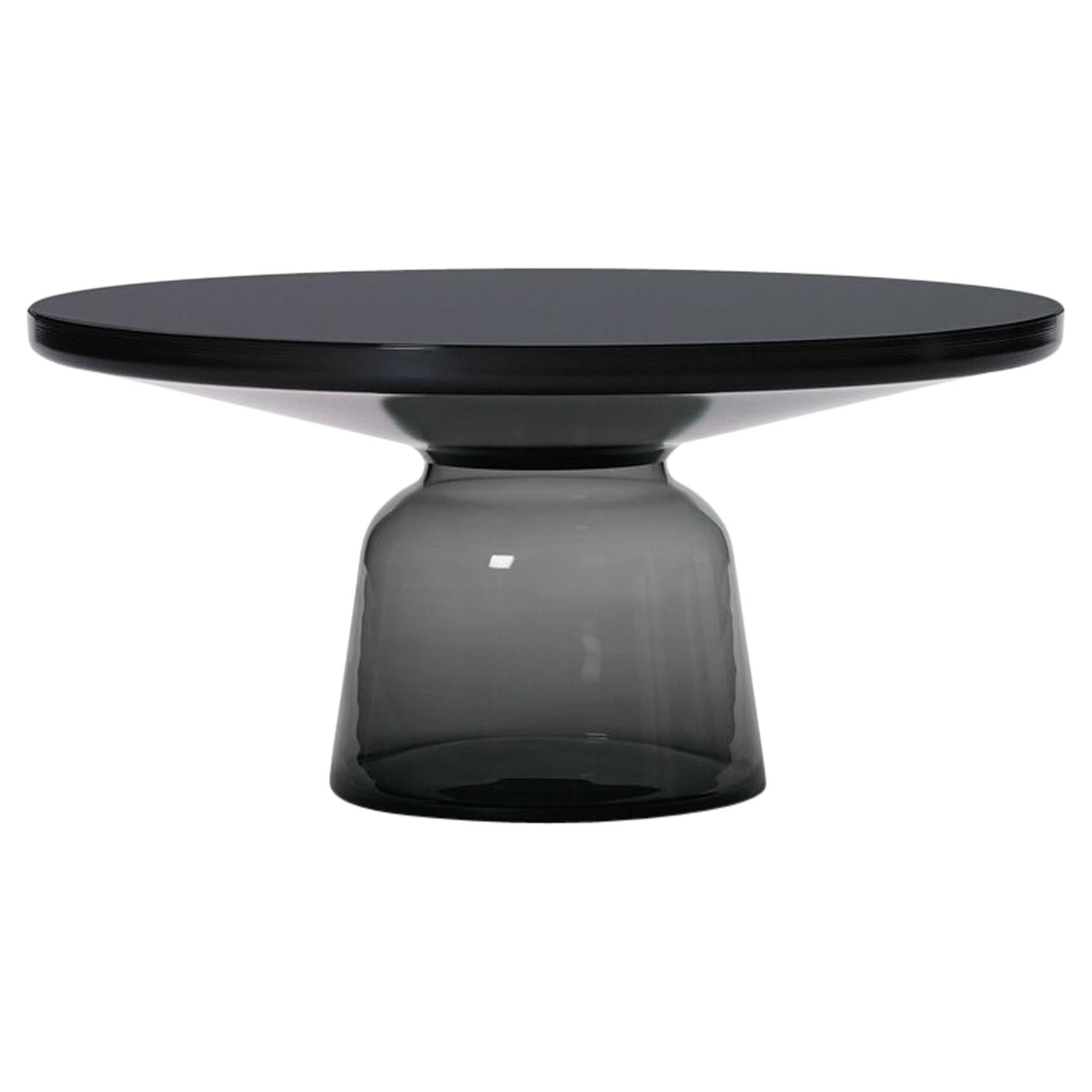 ClassiCon Bell Coffee Table in Black and Quartz Grey by Sebastian Herkner