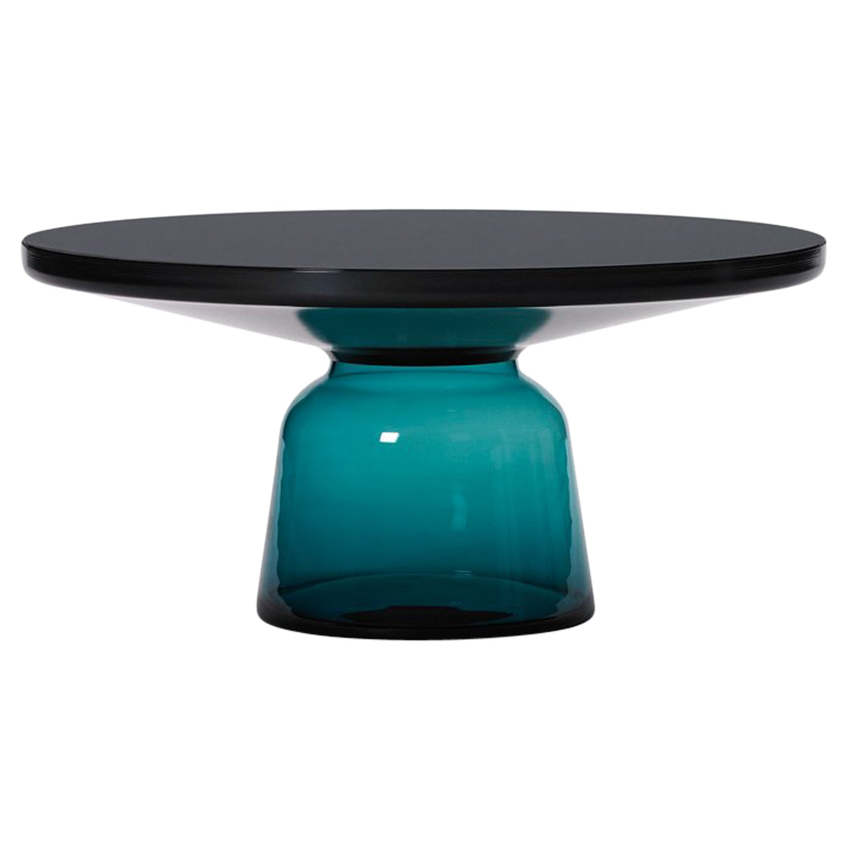 ClassiCon Bell Coffee Table in Black and Montana Blue by Sebastian Herkner