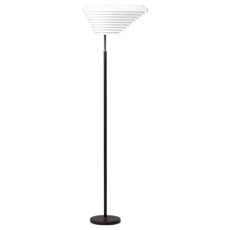 Alvar Aalto A805 Angel Wing Floor Lamp For Sale