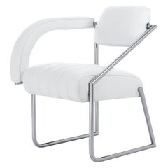 ClassiCon Non Conformist Chair in White Leather by Eileen Gray