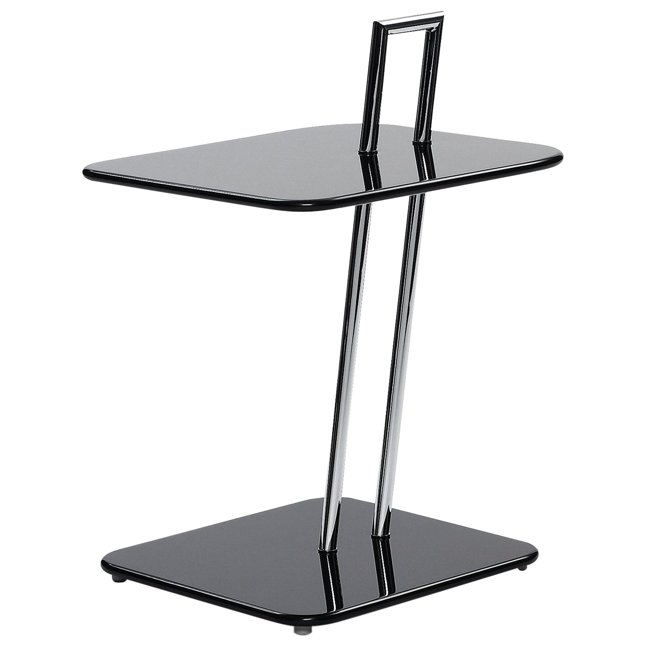 ClassiCon Occasional Rectangular Side Table in Black by Eileen Gray