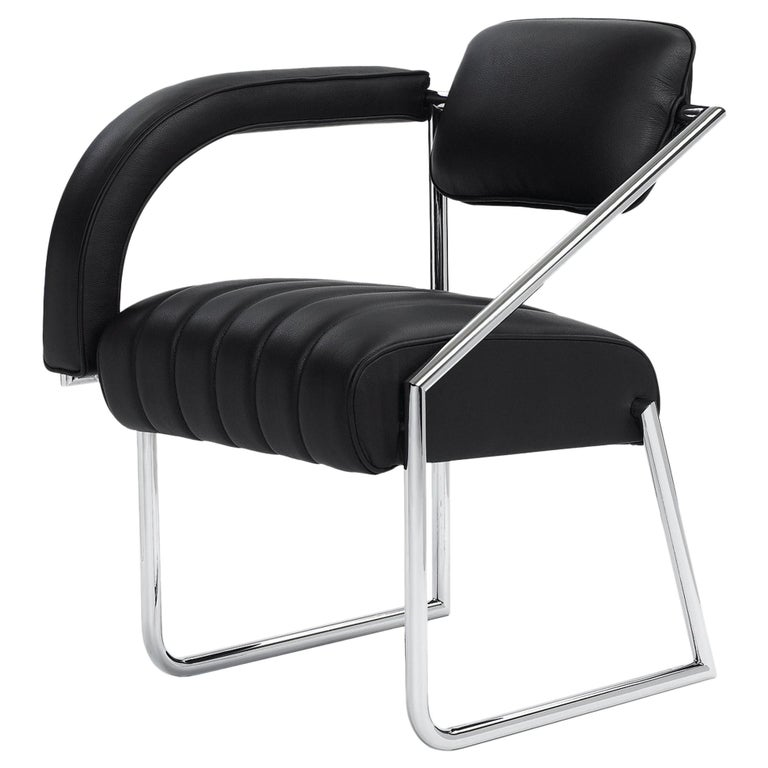 ClassiCon Non Conformist Chair in Leather by Eileen Gray For Sale