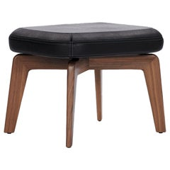 ClassiCon Munich Stool in Leather by Sauerbruch Hutton
