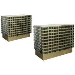 Superb Pair of Cabinets by Studio Glustin