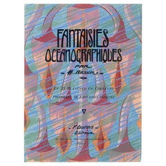 Fantaisies Oceanographiques - Collection of Art Deco Ocean Fantasies Designs