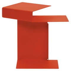 ClassiCon Diana E Side Table in Coral Red by Konstantin Grcic