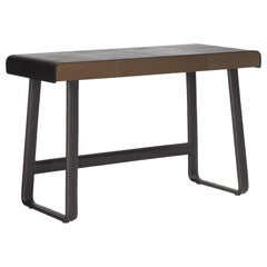 ClassiCon Pegasus Desk in Black with Leather by IF Group & Tilla Goldberg