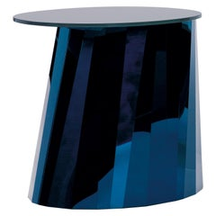 ClassiCon Pli Low Side Table in Blue by Victoria Wilmotte